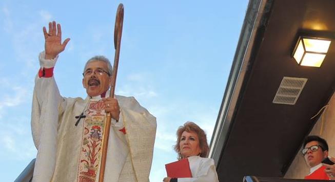 Invitados al Gran Banquete - Obispo anglicano Colin Bazley